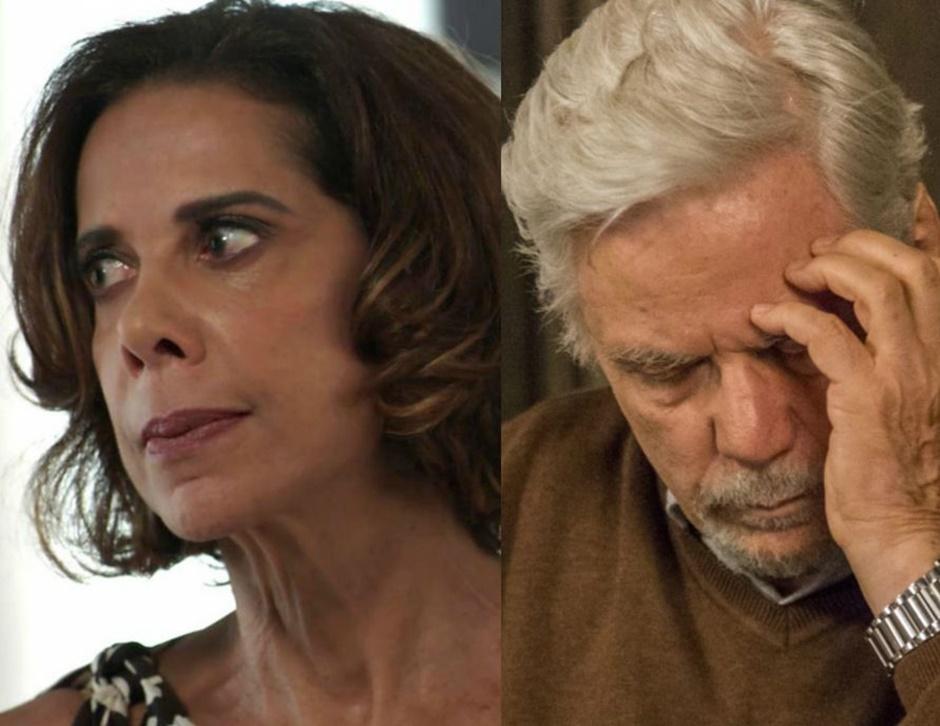 Lígia (Ângela Vieira) tentará fugir do Brasil para não ser presa pela morte de Mirella